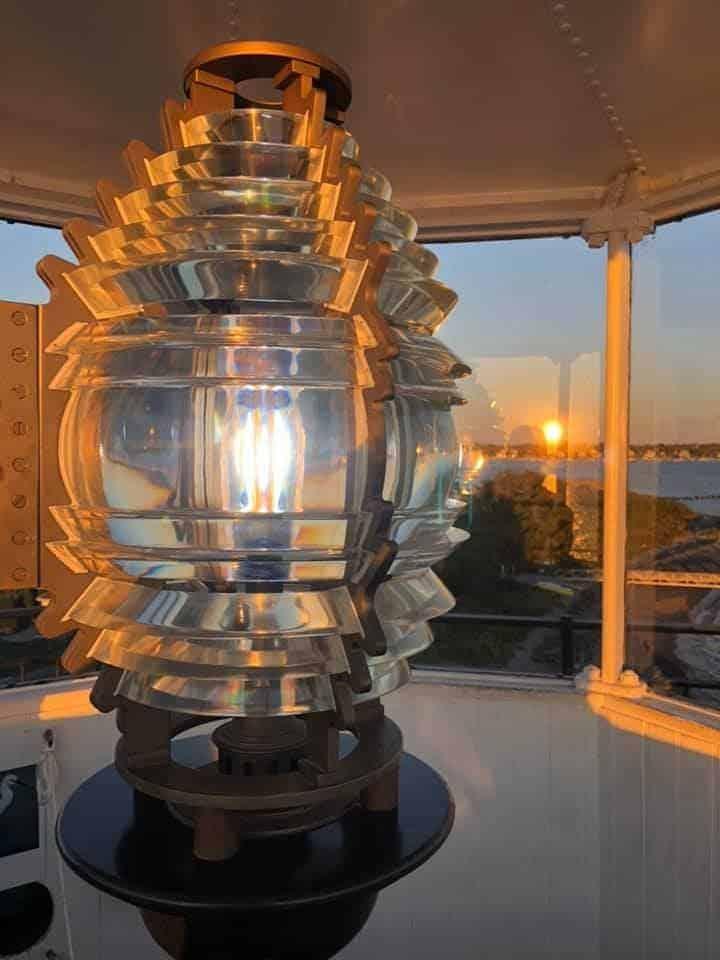 rose island lighthouse light